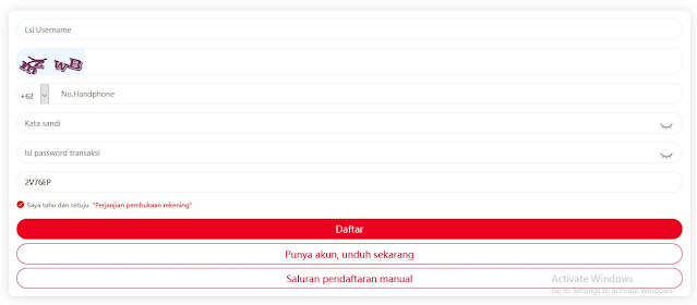 daftar totole