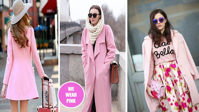 look rosa, look rosa inverno, pink look winter, on wednesdays we wear pink