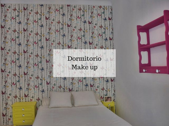 Dormitorio juvenil con tocador