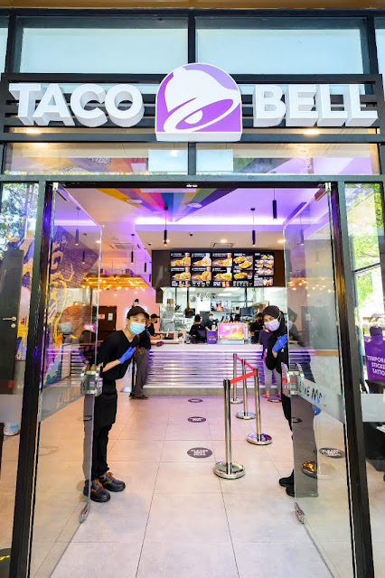Taco Bell Malaysia officially opens its doors today. Malaysians can look forward the world's largest Mexican-inspired American fast-food brand daily from 10.00 – 23.00.