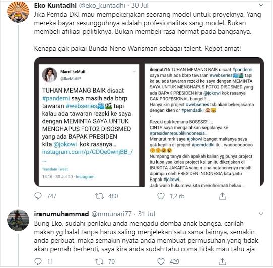 Eko Kutadhi Ditantang Bersumpah Atas Nama Allah, Jika Twit-twitnya Benar Tak Dabayar
