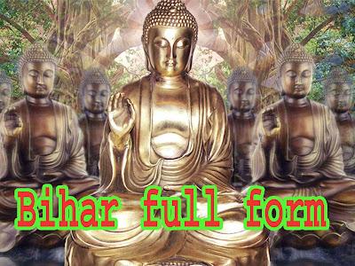 bihar-full-form