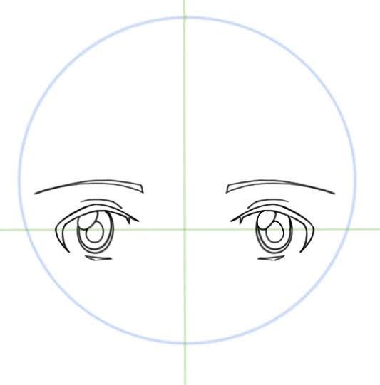 dessiner les sourcilles