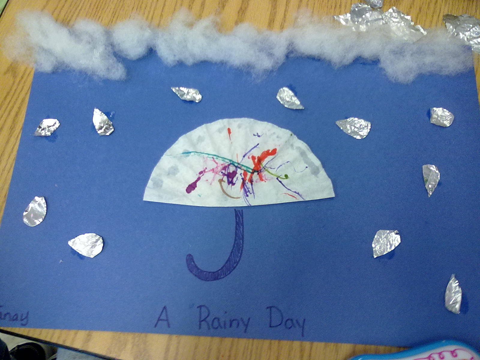 Cute Crafters Weather Craft A Rainy Day Picture