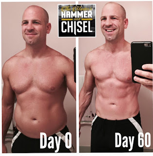 what is hammer chisel, hammer and chisel real results, hammer and chisel test groups