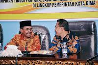 Walikota Bima Lantik Sejumlah Pejabat, HML: Kita Butuh Kinerja Luar Biasa