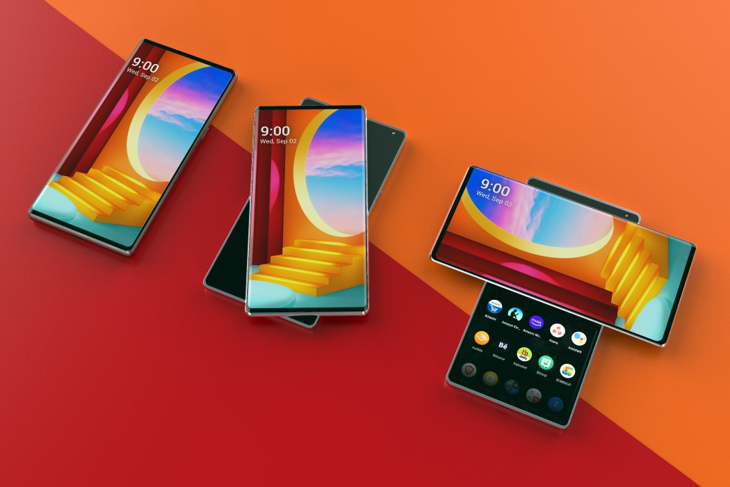 Primo video di LG Wing, lo smartphone doppio display con apertura a T