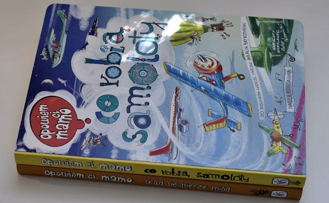 Nasza Księgarnia, Opowiem Ci mamo, Opowiem CI mamo co robią samoloty, samoloty, książka o samolotach, muzeum lotnictwa