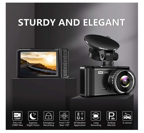 JOMISE F3S Full HD Dash Cam Car Camera