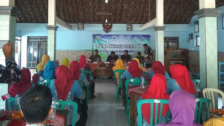 Verifikasi ODF Desa Kalipucang Kulon Welahan Oleh Tim Verifikasi Desa Sowan Lor Kedung