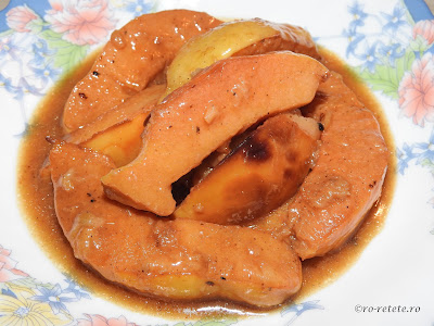 Reteta mancare de gutui de post traditionala romaneasca retete culinare mancaruri dulci cu fructe,