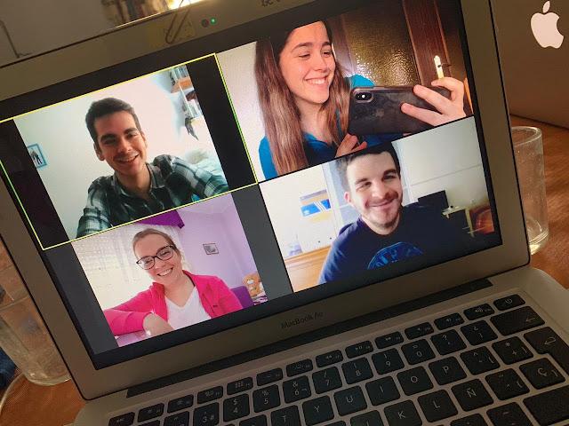 Reunión virtual con Juventud de FAXPG