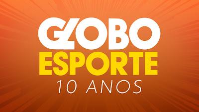 Selo 10 anos Globo Esporte RS. Crédito: Divulgação