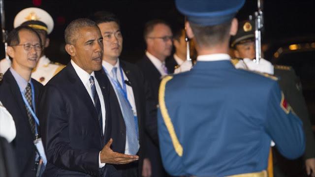 EEUU se disculpa ante China por criticar 'fría recepción' a Obama