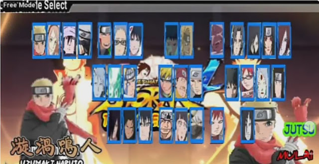Download Naruto Senki MOD Unlimited Money The Last v2 Apk Android Terbaru