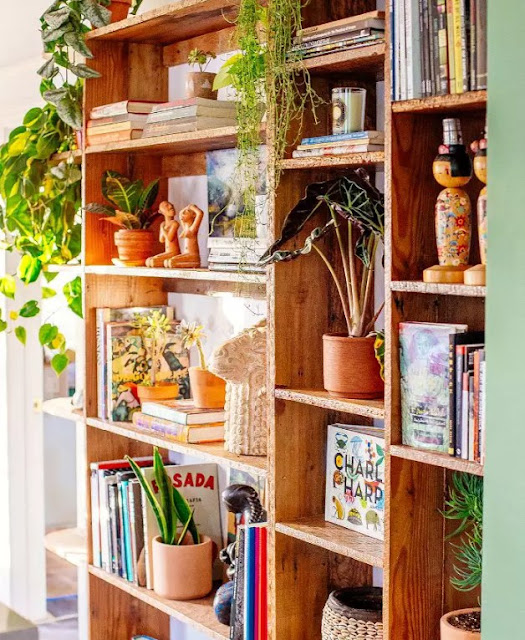 Art book and mementor for bohemian decor space