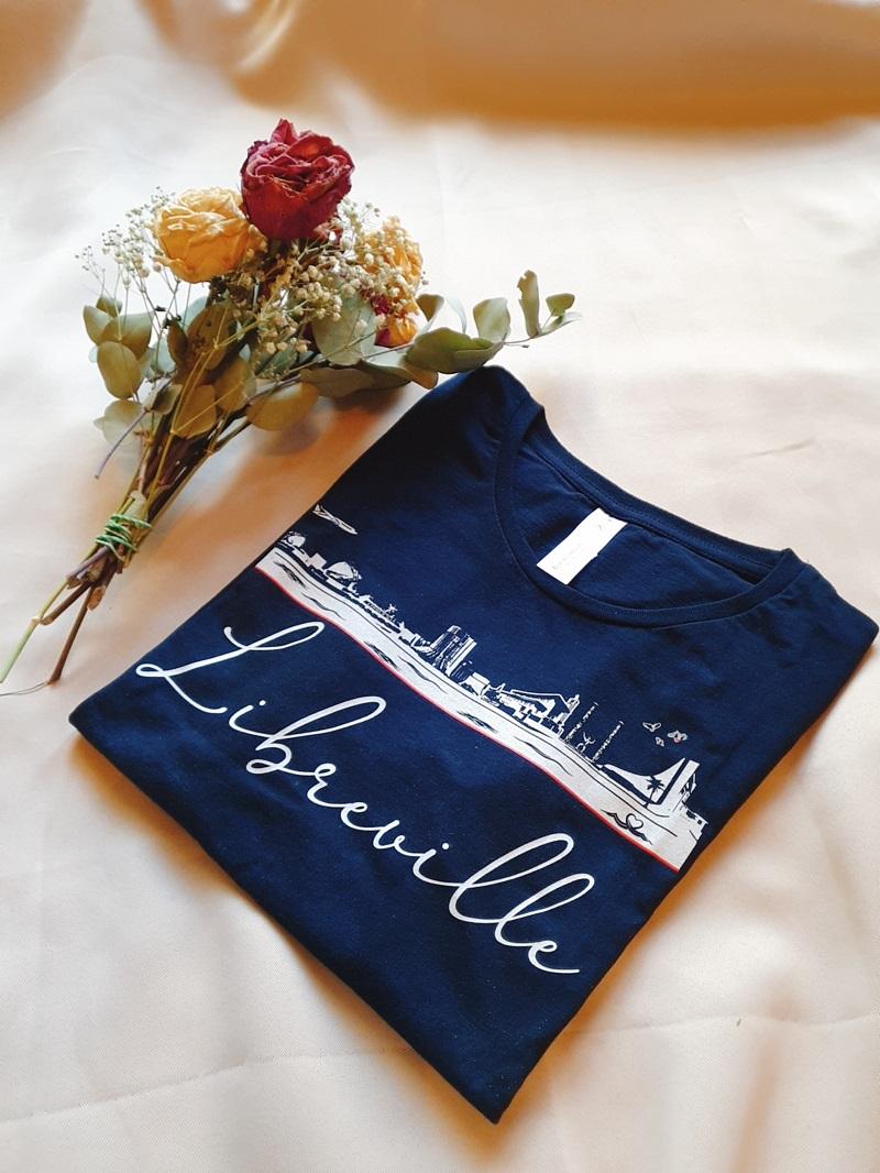 blog afro lookbook tshirt Libreville