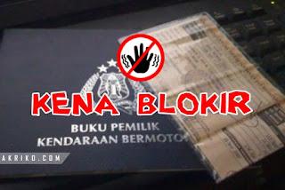 Motor Belum dijual atas Nama Sendiri Bisa Kena Blokir di Samsat