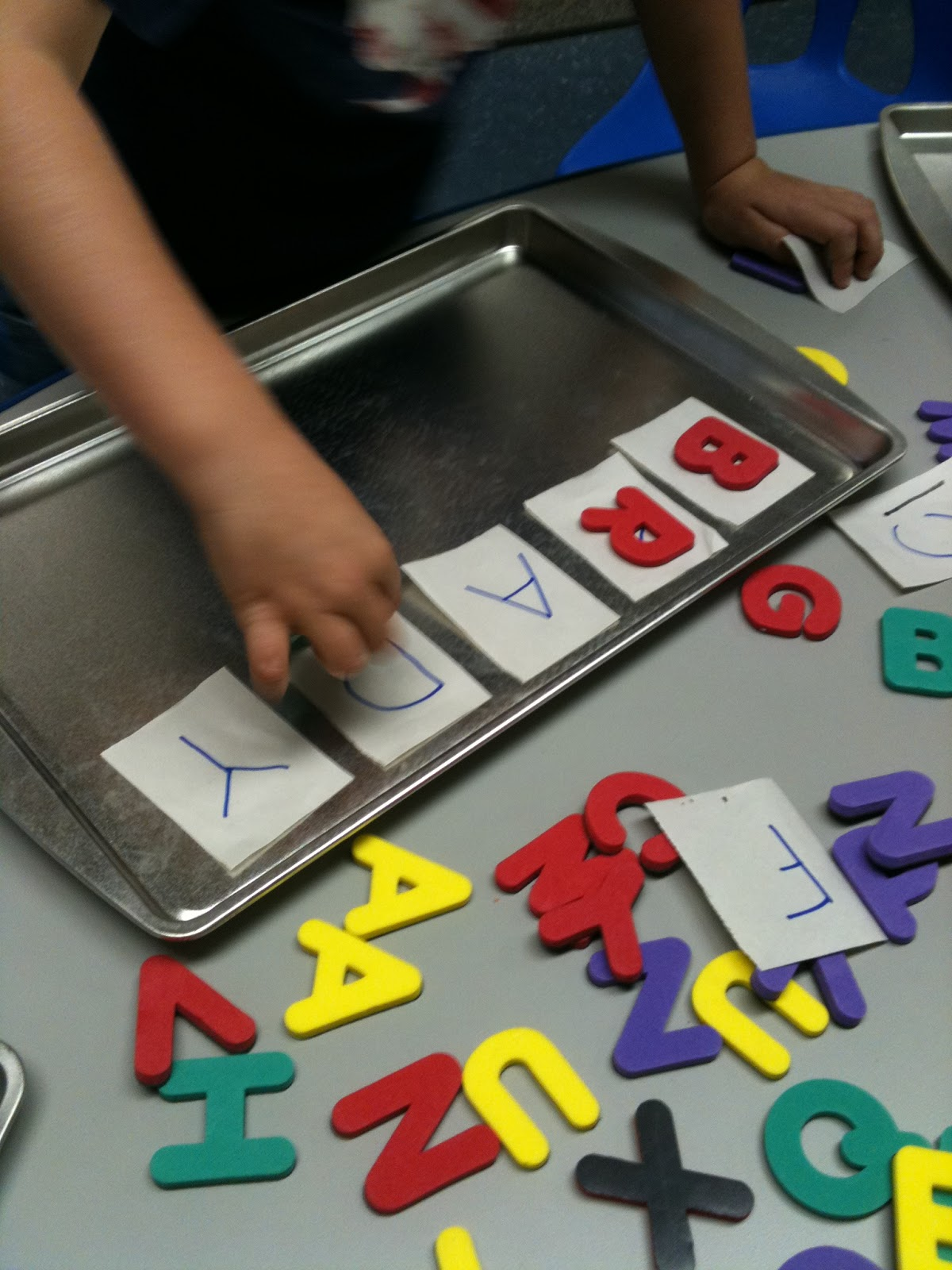 More Than Abc S And 123 S Magnetic Trays Letter Matching