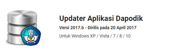 Dapodik Updater 2017b