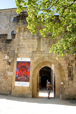 Porta di accesso ai Santuari di Rocamadour