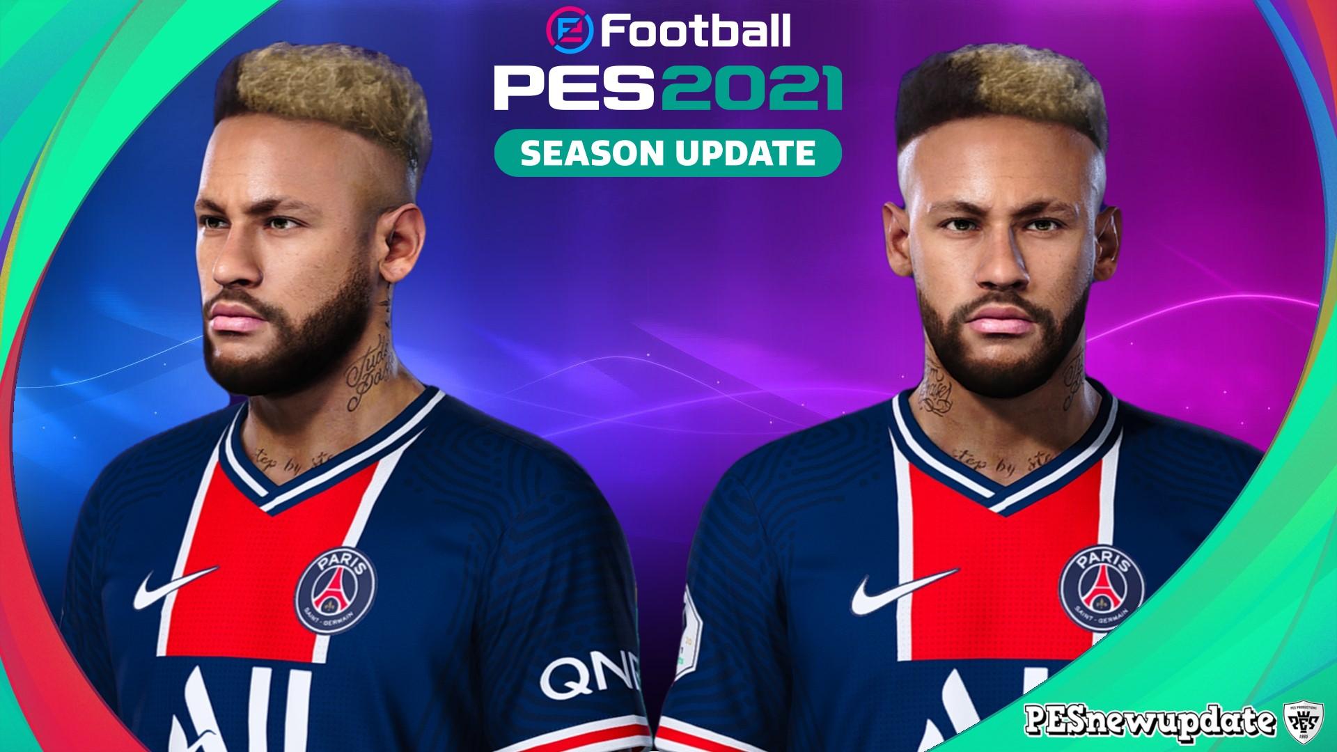 PES 2021 Faces Neymar Jr by SR ~ PESNewupdate.com   Free ...