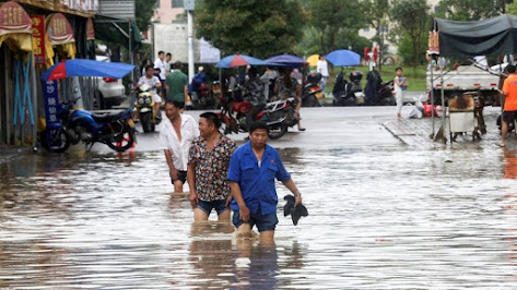 Natural Disasters Occurring Three Times More Often Than 50 Years Ago