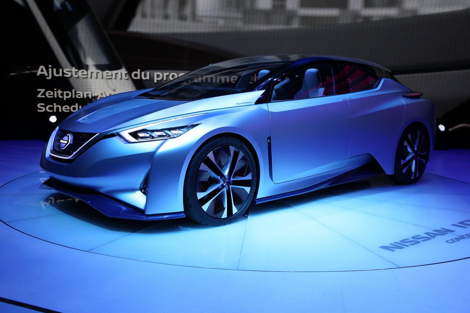 Nissan IDS Concept - Tương lai của Nissan bất ngờ xuất hiện tại Geneva