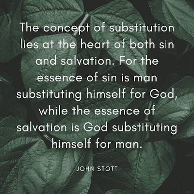 Good friday quotes and images John Stott