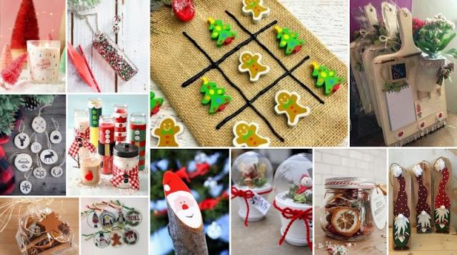10 Χειροποίητες Κατασκευές για Χριστουγεννιάτικα Bazaar