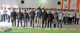Mais de 200 jovens prestam juramento à bandeira em Miracatu