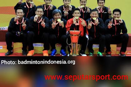 Hasil undian Badminton Asia Team Championship 2020