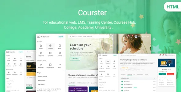 Best Educational Platform and Learning System Template