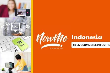 Hadir di Indonesia, NOWME Menjadi Live Commerce Pertama di Asia Tenggara