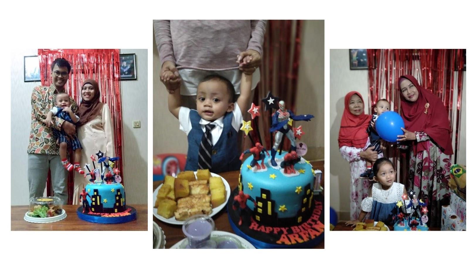 Perayaan Ulang Tahun Pertama Arfan