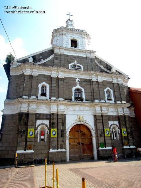 Façade of the Thee Kings Parish Church in Gapan, Nueva Ecija
