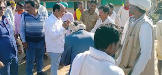अमरवाड़ा विधायक राजा कमलेश प्रताप शाह ने आदिवासी समाज को दी बर्तन की सौगात