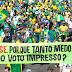 Manifestações pelo voto auditável reúnem milhares em várias capitais do País