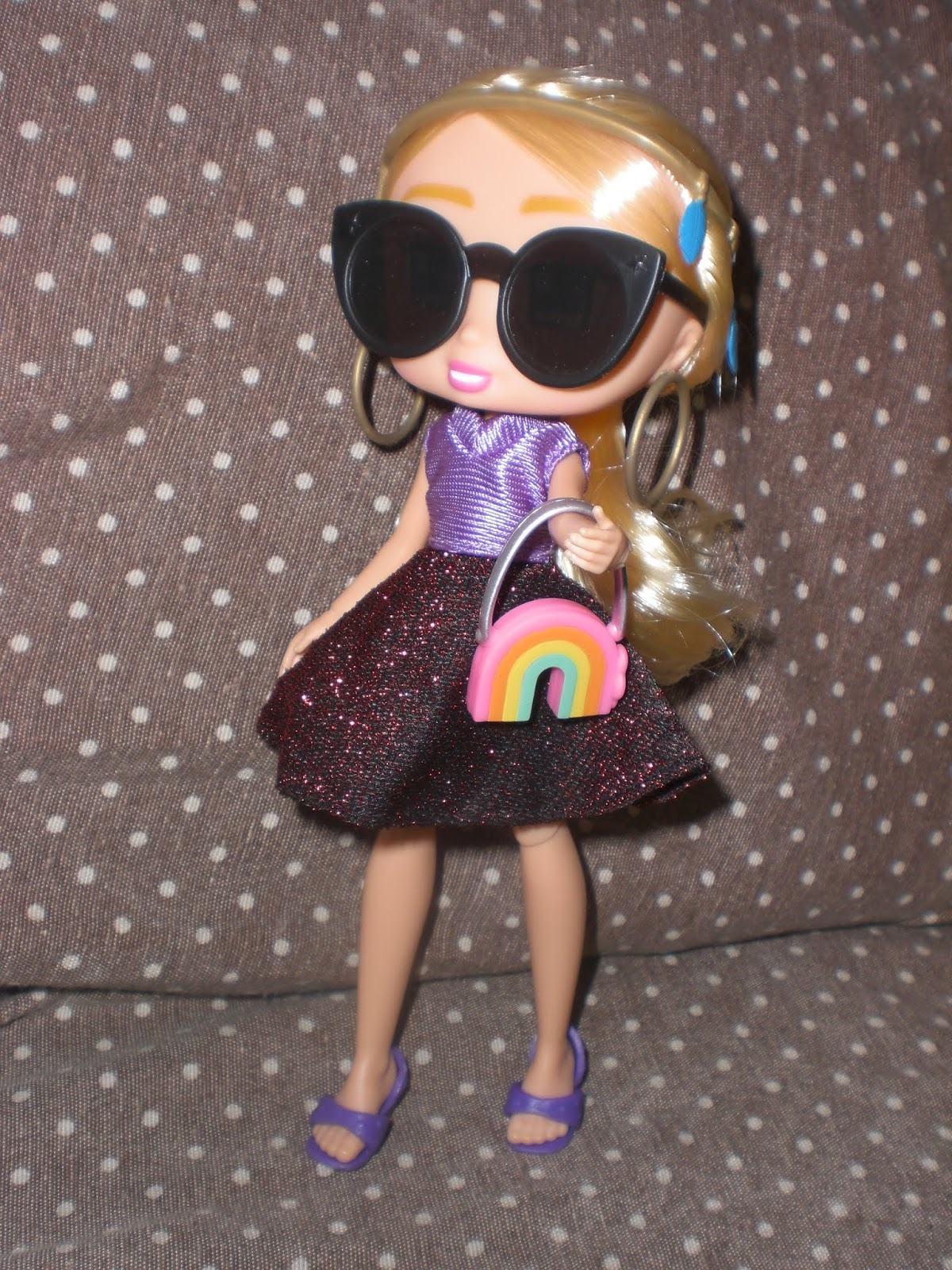 Rosa CE /Accessori per Bambole di plastica Bratz Fashion Pack # 5/ Blu Nero
