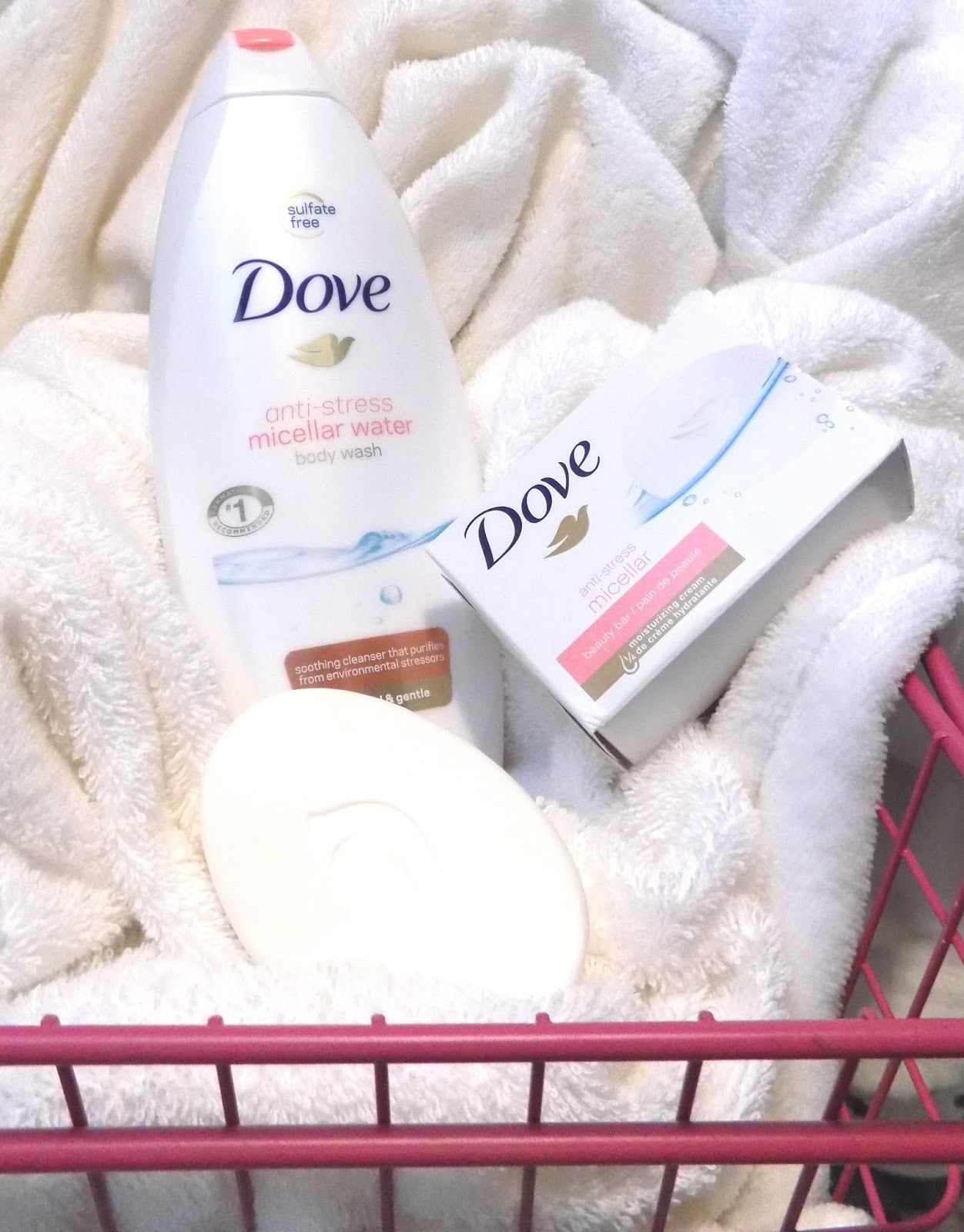 The Beauty Alchemist Dove Anti Stress Micellar Water