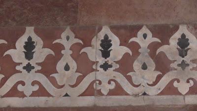 Art Work Old Fort Delhi India 931