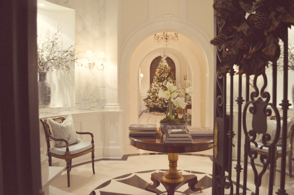 Enchanted Home blog Tina's beautiful Parisian like entry in her French chateau