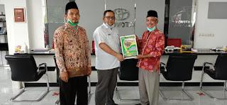 Penandatanganan MOU dengan PT.IMM Toyota Mojokerto