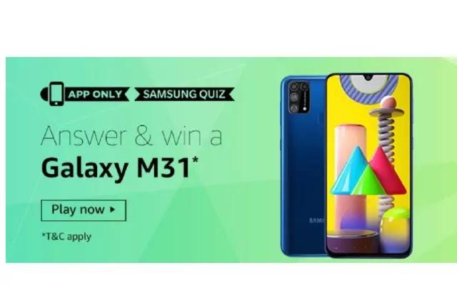 Amazon Samsung Quiz Answers