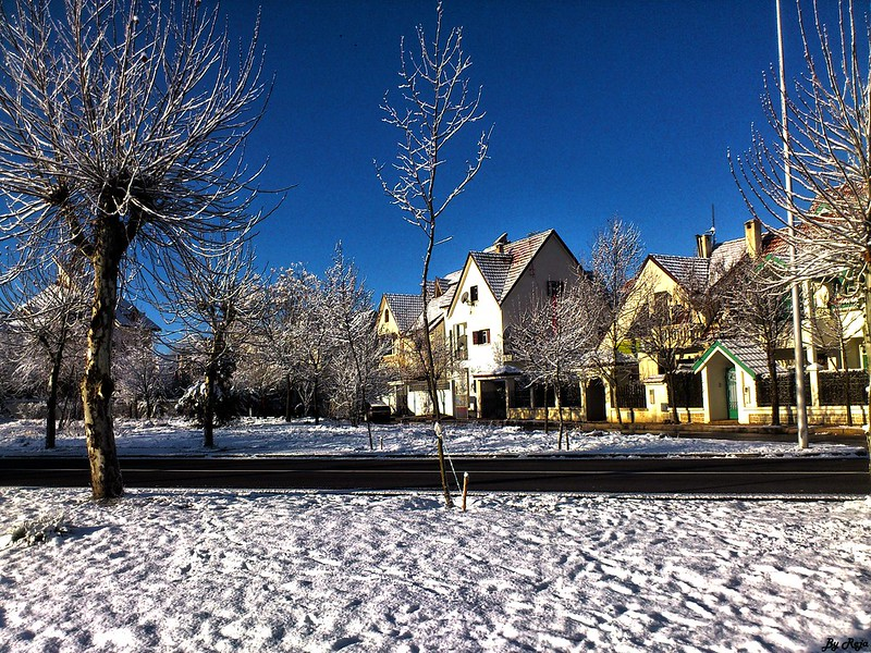 Snow in Ifrane