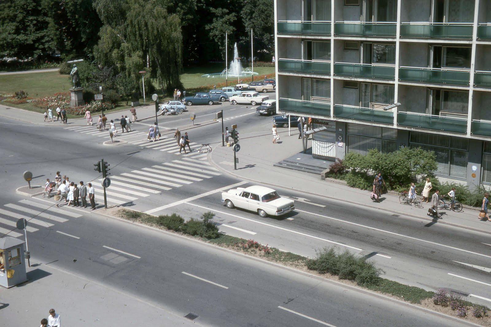 Bildertanz 60er Jahre Der Wei 223 E Daimler Am Listplatz