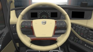 Fine Spirit Steering Wheel for Volvo 2012