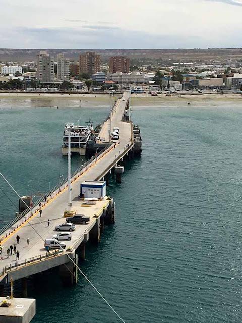 Порт Мадрин. Отчаливаем.