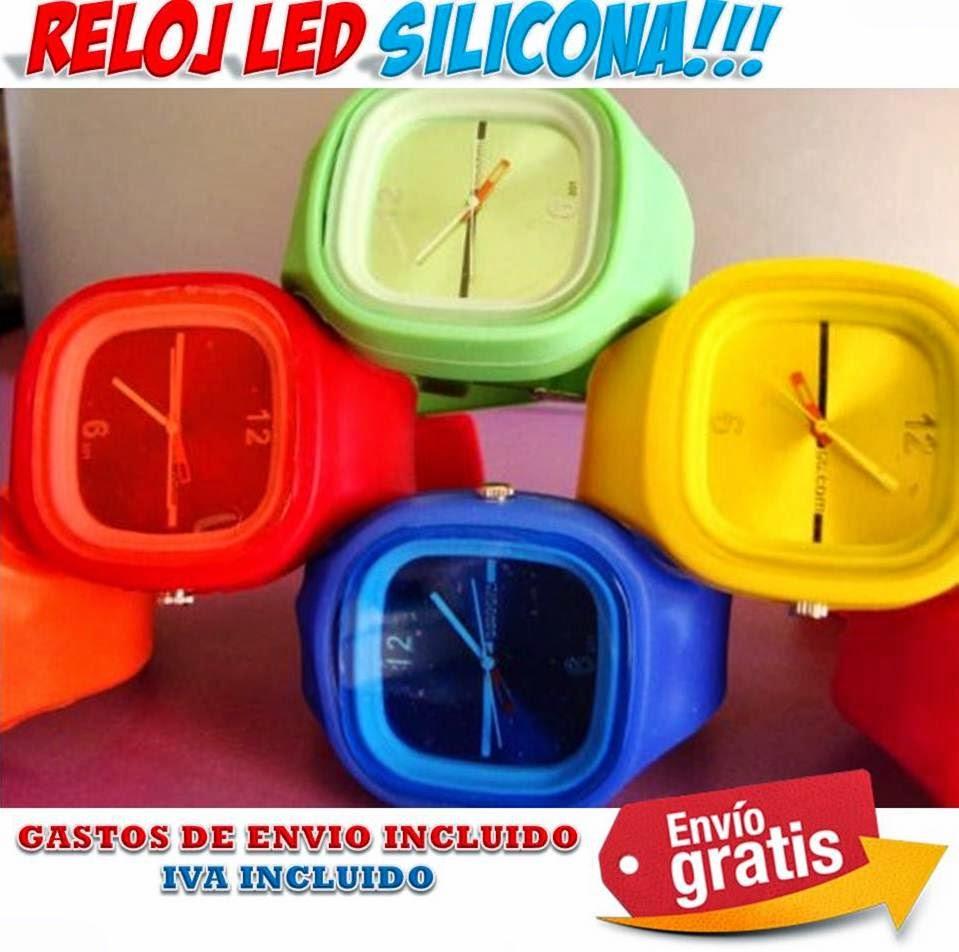 89eec9bc3e4c Comprar relojes con correa silicona está de moda - Relojes originales