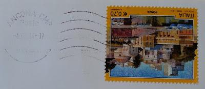francobollo del 2013 dedicato a Ponza (LT)